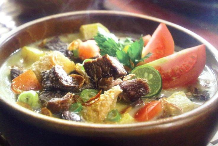 Soto Betawi #traditionalfood #Indonesia #Jakarta