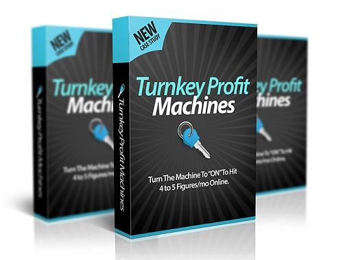 Turnkey Profit Machines Review - what is it? Inside Turnkey Profit Machines you will learn how you can profit big without ever doing any SEO. You also won't need to do any hard work trying to come with a product of your own.