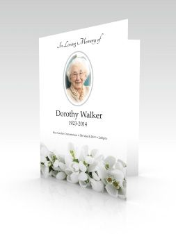 order of services funeral