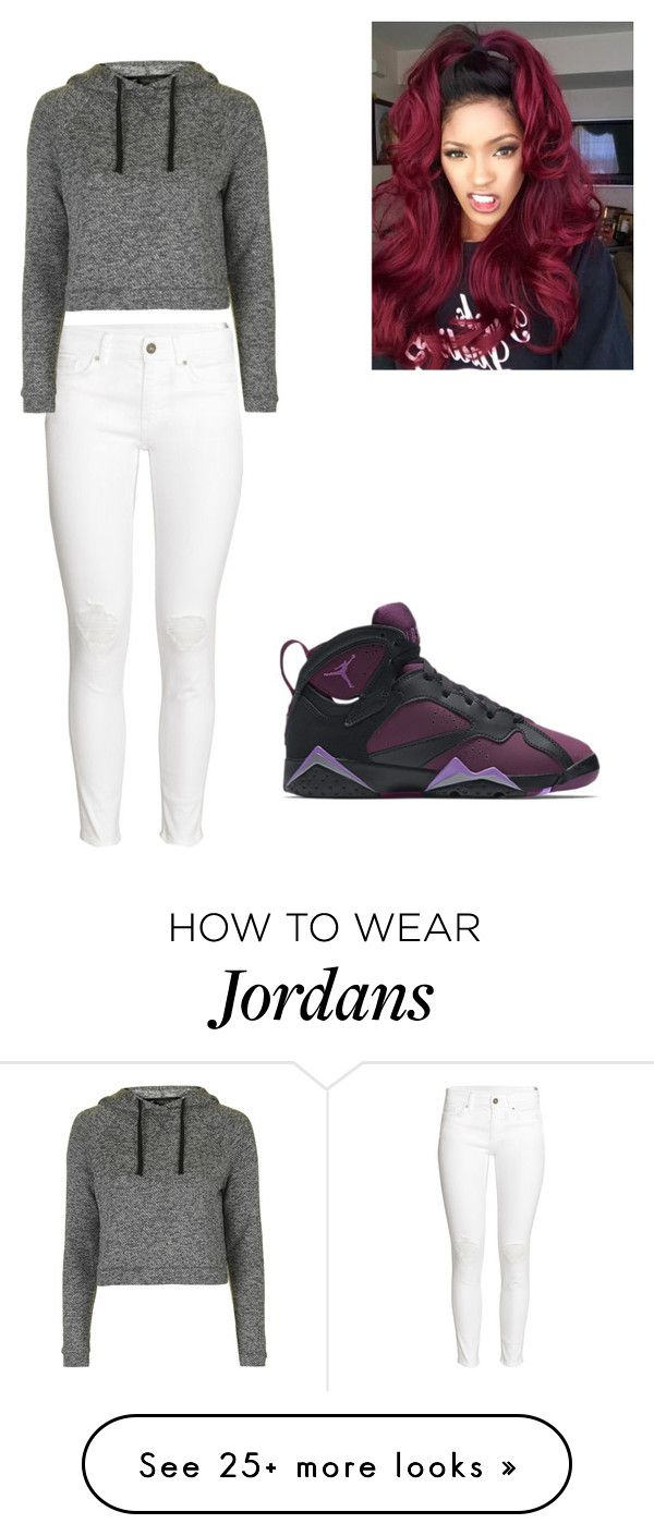 """Untitled #61"" by lifeofmacy on Polyvore featuring H&M, Topshop and NIKE"