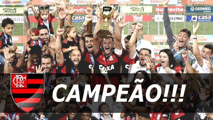 Flamengo 2 x 1 Fluminense COMPLETO (MENGÃO CAMPEÃO) Gols & Melhores Mome...