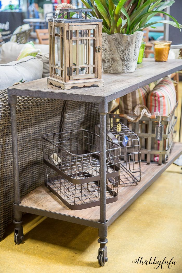 On the blog: My Ten Favorite Things At Orchard Supply Hardware and you might not think that they carry pieces like this!