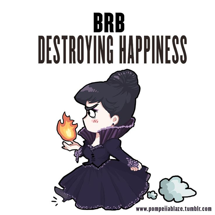 BRB destroying happiness by pompeii-ablaze.deviantart.com on @DeviantArt