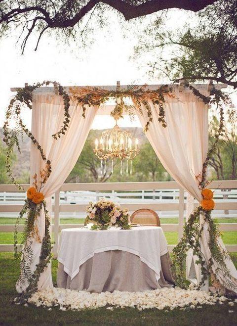 75 Rustic Fall Wedding Ideas You Ll Love Outside Wedding