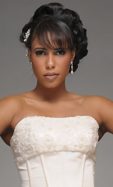 Gallery Of Luxury Wedding Hairstyle For Black Bride