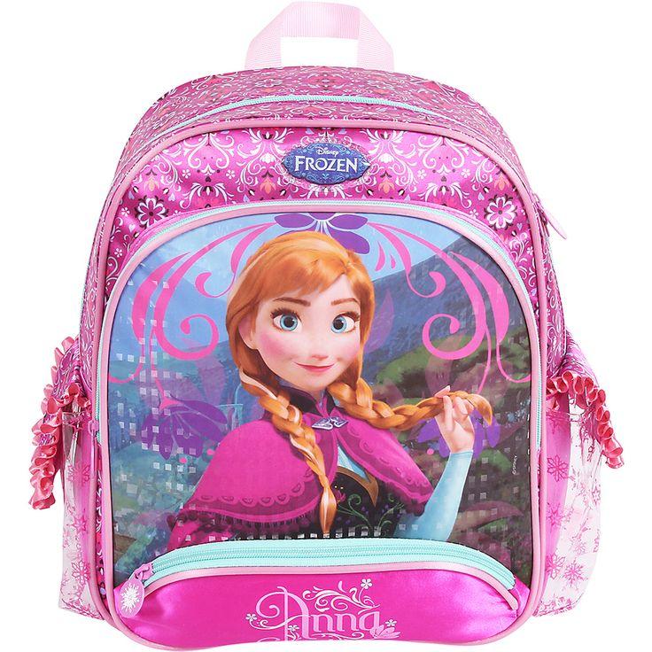 Mochila poli. M Frozen Anna 60218 Dermiwil - Escolar - Kalunga.com