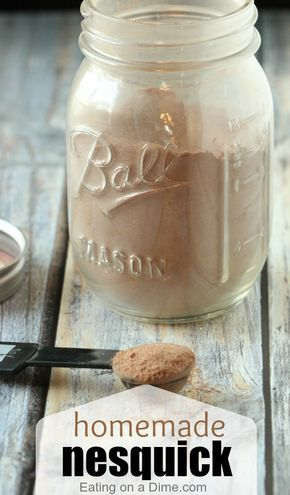 See how to make Homemade Nesquik and how it will save you a lot of money by making it instead of buying it in the store.