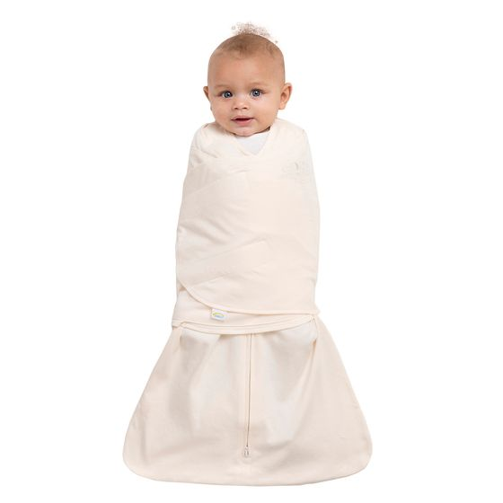 The 100% Organic Cotton SleepSack Swaddle from HALO is made from organically grown cotton and is free of all chemicals.