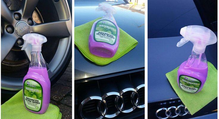 Pearl Waterless Car Wash Nano Wax Shine and Protection.