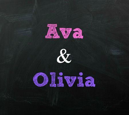 Ava and Olivia Twin Baby Names | Disney Baby