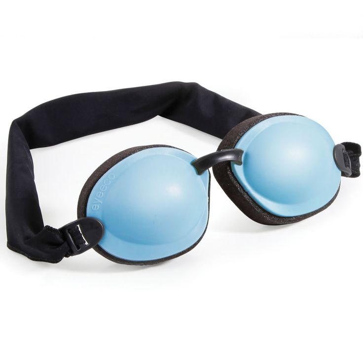 The Dry Eye Relief Kit - Hammacher Schlemmer - Gel packs are warmed in a microwave and placed inside the goggles to stimulate tear production and the release of beneficial oils from the eyes' meibomian glands, increasing humidity and moisture to relieve dry eyes.
