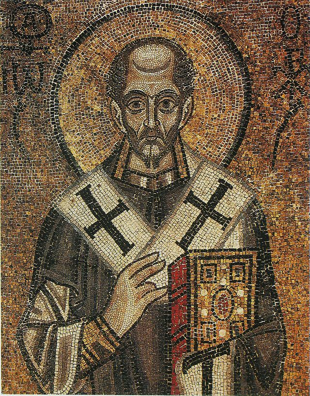 Иоанн Златоуст Софийский собор 11 век - Софийский собор (Киев) — Википедия