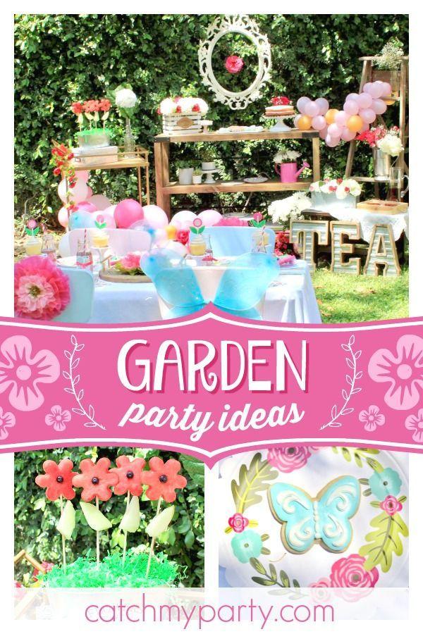 Garden Party Summer Kids Garden Party Catch My Party