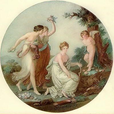 Maidens & Cherub