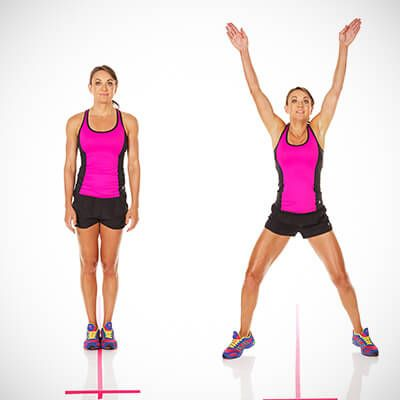 5-минутная высокоинтенсивная интервальная тренировка – отличный способ сбросить пару лишних килограммов и приблизить свое тело к идеалу. Мишель Бриджес предлагает потрать всего 5 минут на заботу о фигуре, выполняя приведенные в статьи упражнения