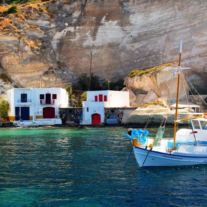 Milos Island/Klima - Cyclades/Greece Photo by Giannis Barberis #milos #milosisland #milos_island #milosphenomenon #aegean #cyclades #hellas #greece #grecia #grekland #bestisland #visitgreece #visit_greece #vacations #travel #holidays #cyclades_islands #greekislands #griechenland #reasonstovisitgreece #travel_greece #klima #tradition #summer #sea #syrma #boat