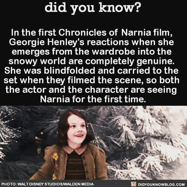 Anybody never watched Narnia movie?   ➖➖ You can follow @inventastics if you love interesting inventions.. ➖➖   Turn On Post Notifications   TAG friends that Love Facts  ➖➖ .  Credit to original owner for the image . Thanks to @didyouknowblog for the info  Follow @LetsDoubleTap for interesting image