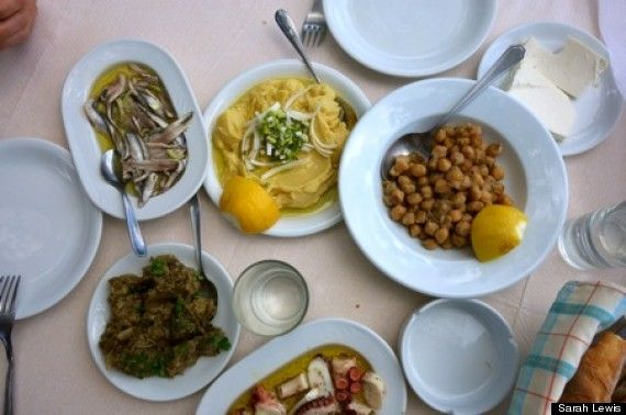 How to eat like a local in Greece.