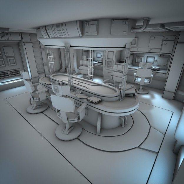 Best 25 spaceship interior ideas on pinterest space for Interieur vaisseau spatial