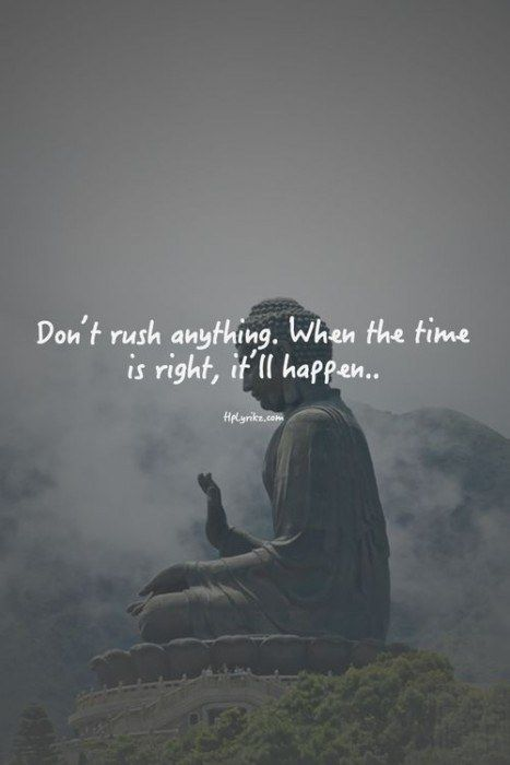 DownDog Inspirations: Don't rush anything. When the time is right, it'll happen… From the Downdog Diary Yoga Blog found exclusively at DownDog Boutique. DownDog Diary brings together yoga stories from around the web on Yoga Lifestyle... Read more at DownDog Diary