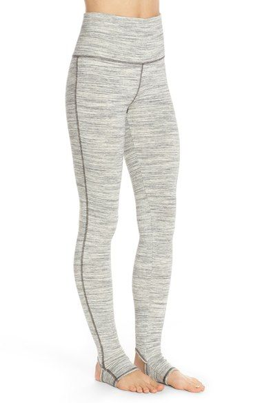 Free shipping and returns on Free People 'Namaste' Heathered Stirrup Leggings at Nordstrom.com. Designed to help you move and stretch in class, these supersoft, heavy-knit leggings feature a high waistline that can be rolled down and stirrup ankles to keep the hems in place.