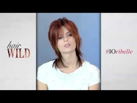 Wild Hair- Corte desenfadado y elegante que da a la mujer su aspecto femenino natural y enmarca suavemente la cara con grumos brillantes.