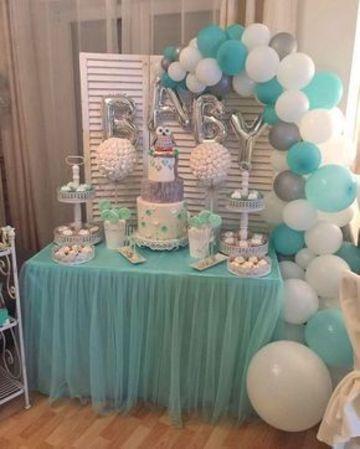 0b39677eca54 Divertidos y tiernos arreglos con globos para baby shower