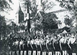 HJ-Zeltlager 1939 vorm Galgentor