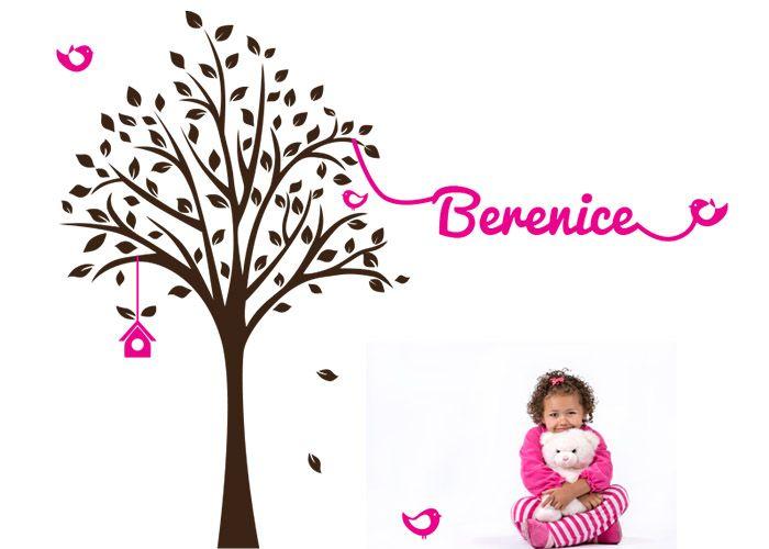 nidotree #decoraconvinil #vinilosdecorativos #decoracion #decoratupared #arbol #niños #bebés