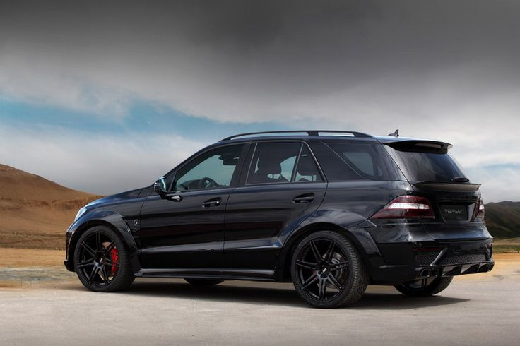 Mercedes ML63 AMG Inferno Black