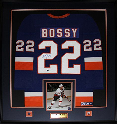 Mike Bossy New York Islanders signed jersey frame >>> You can get more details by clicking on the image.