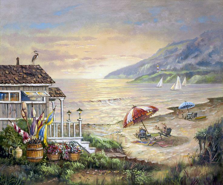 """""""Sea Side Rays"""" by Carl Valente"""