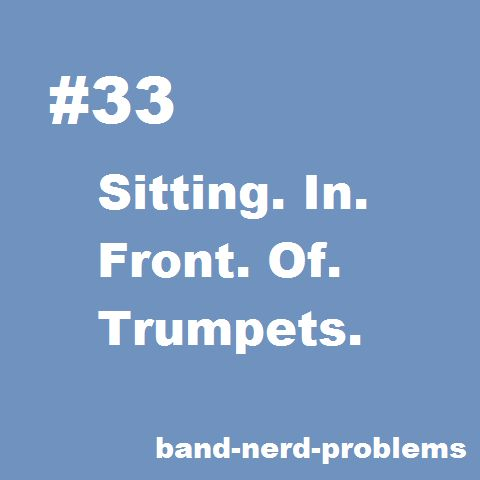 Clarinet problem...And that's why my band teacher gave us ear plugs xD