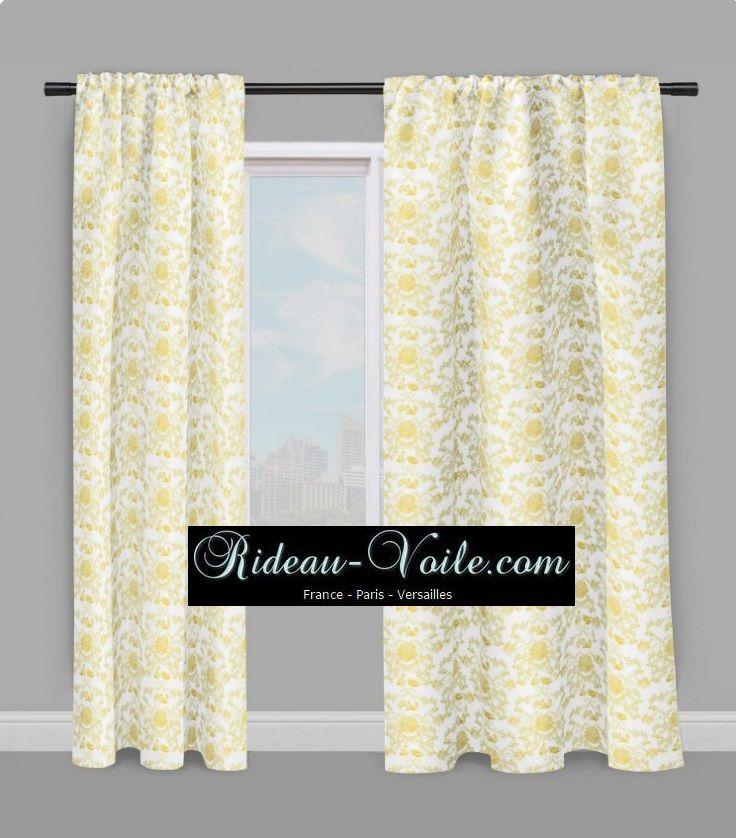 Toile de Jouy tissu rideau drapes curtain #toile#de#jouy ...
