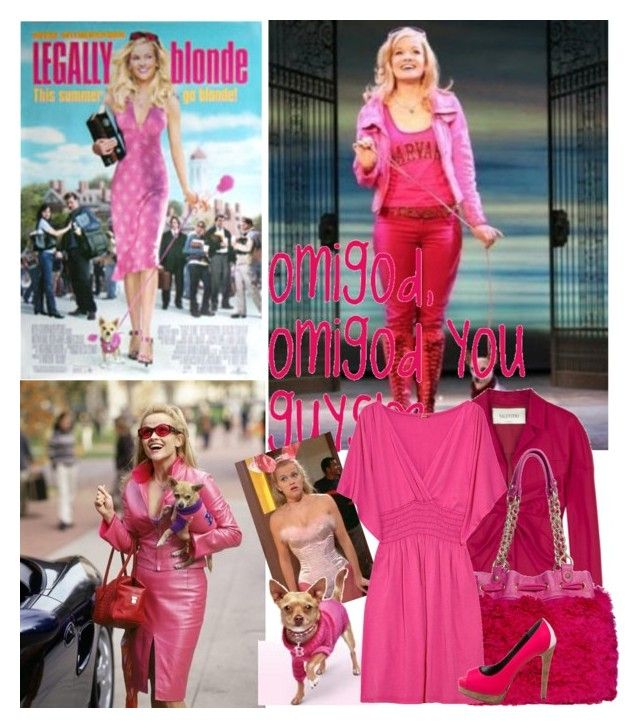 """Legally blonde"" by cohen36987 ❤ liked on Polyvore featuring Valentino, Juicy Couture, Splendid and Ruthie Davis"