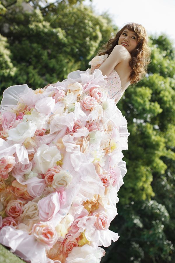 アンデルセン ピンク|THE HANYドレス|岐阜・名古屋の貸衣裳・ドレスレンタル ウェディングプラザ二幸 - http://www.weddingplazaniko.com/lineup/dress/the_hany1372.html