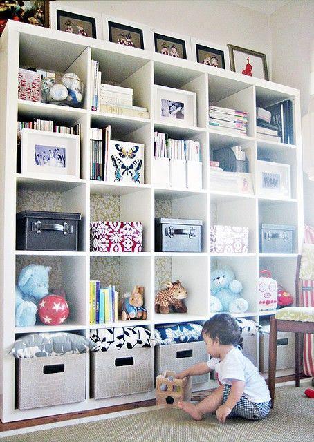 Cube Storage Shelves: Wood cube storage shelves. Modern shelving ...