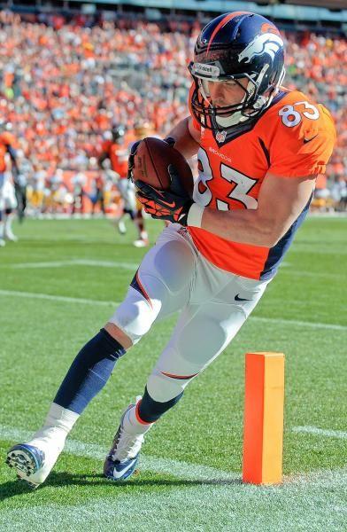 Denver Broncos wide receiver Wes Welker.