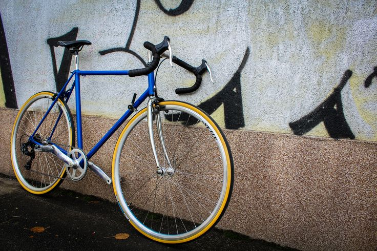 Road bicycle made by our passionate mechanic from COBI Bicycle.