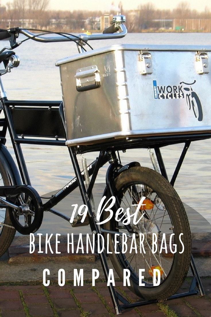 20 Best Bike Handlebar Bags In 2020 Compared In Detail Bike Handlebars Handlebar Bag Cool Bikes