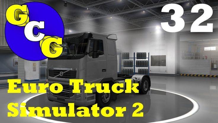 Euro Truck Simulator 2 My Bumper Had a Car! Szczecin
