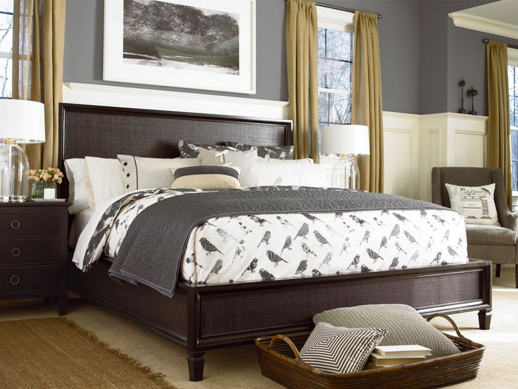 Universal Furniture Summer Hill Midnight Woven Bed