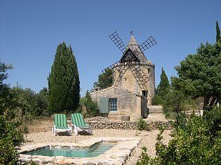 Moulin+de+maître+Cornille+++Location de vacances à partir de Uzès - Pont du Gard @homeaway! #vacation #rental #travel #homeaway