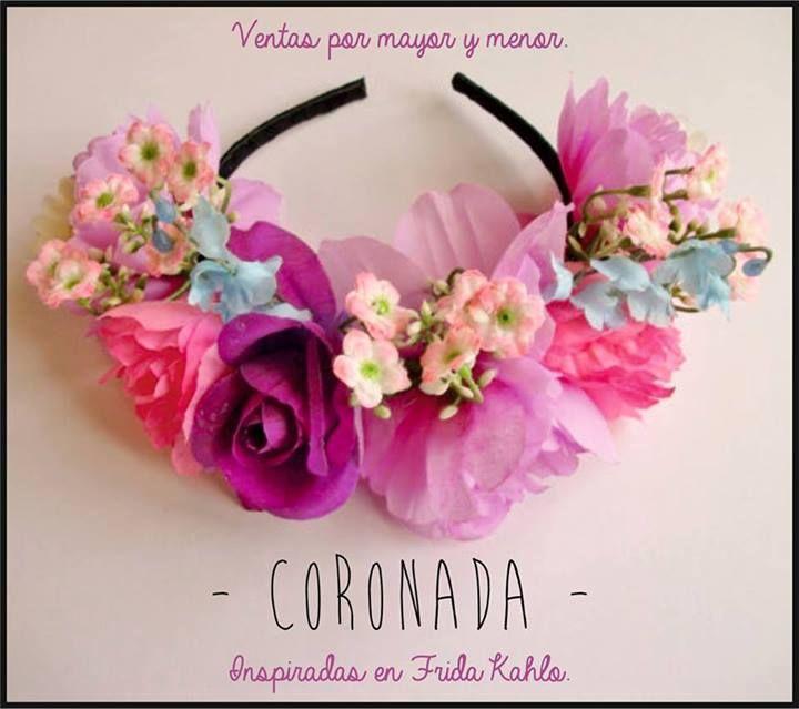Vinchas con Flores Coronada. Hechas en Argentina. www.facebook.com/accesorioscoronada