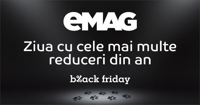 Ultimile detalii oficiale despre evenimentul Black Friday 2015 la eMAG le gasiti in randurile de mai jos. Asteptarile sunt imense si se pare ca ofertele, reducerile si surprizele se vor ridica la nivelul cerut. Daca vor mai aparea alte date despre eveniment le voi adauga pe parcurs.