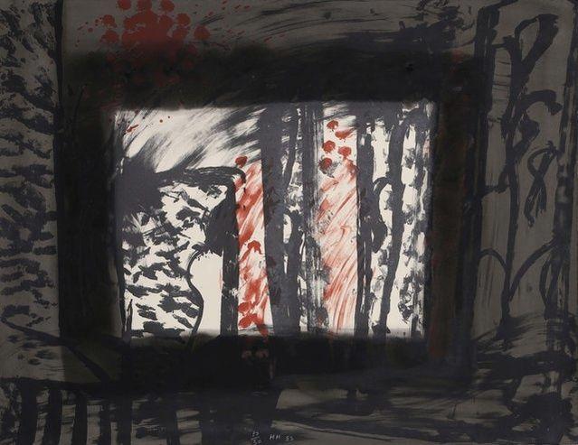 Howard Hodgkin | Sand (1983) | Available for Sale | Artsy