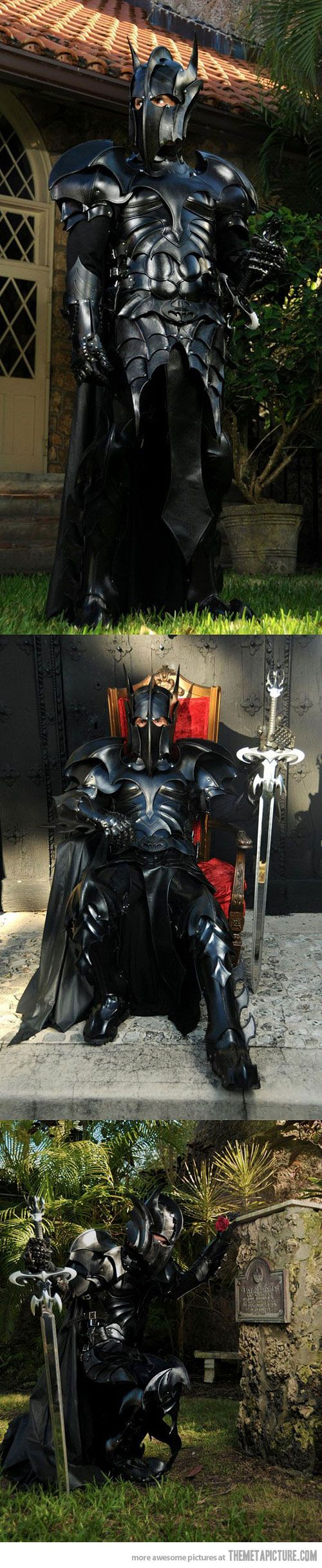 Medieval Batman Armor - What call ye thy n self, kind Sir? Sir Man Bat?