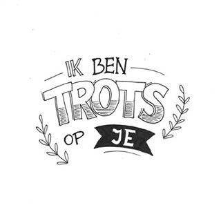 Begin de dag met een compliment! #trots #letterart #lettering #handtype #handlettering #illustratie #proud #Kaartje #illustration #draw #drawing #sketch #doodle #spreuk #mantra #marijketekent #tekening #moderncalligraphy #typographyinspired