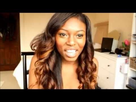DIY TUTORIAL HOW TO HONEY DIP HAIR(OMBRE INSPIRED) - YouTube