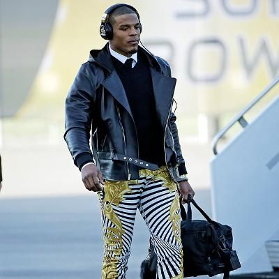 Cam Newton Wears $849 Versace Pants Twitter Explodes